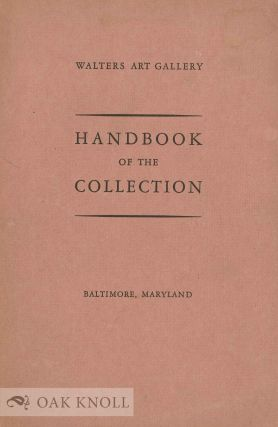 HANDBOOK OF THE COLLECTION