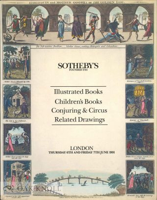 ILLUSTRATED AND PRIVATE PRESS BOOKS; CHILDREN'S BOOKS AND JUVENILIA; THE PERFORMING ARTS; RELATED...