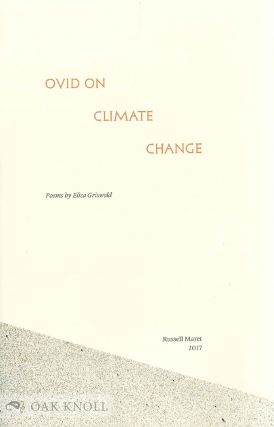 OVID ON CLIMATE CHANGE.