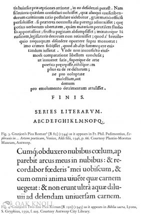 ROBERT GRANJON, LETTER-CUTTER, 1513-1590: AN OEUVRE-CATALOGUE