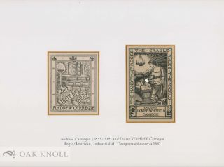 Group of 20 bookplates from these famed 19th and 20th century famed American Industrialists