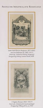 Group of 20 bookplates from these famed 19th and 20th century famed American Industrialists.