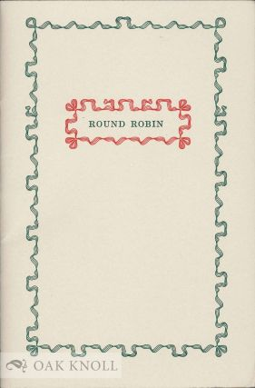AROUND ROBINS. Graham Moss, Kathy Whalen