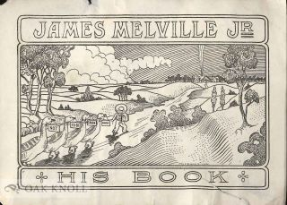 Bookplate of James Melville, Jr