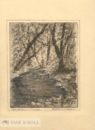 MENDICINO WOODS. Mildred C. Tallant