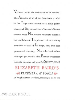 Advertisement by the Ascensius Press.