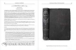CHARLES DICKENS: A BIBLIOGRAPHY OF HIS FIRST AMERICAN EDITIONS, THE CHRISTMAS BOOKS AND SELECTED SECONDARY WORKS