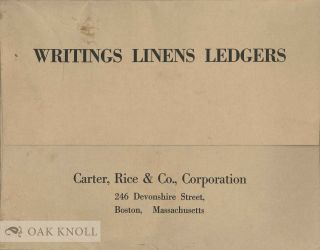 WRITINGS LINES LEDGERS