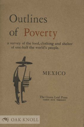 OUTLINES OF POVERTY. Robert F. Stowell