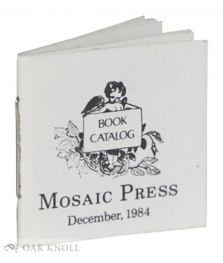 BOOK CATALOG, MOSAIC PRESS