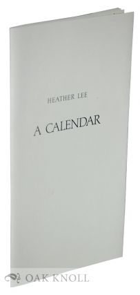 A CALENDAR. Heather Lee