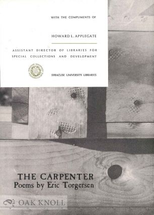 THE CARPENTER. Eric Torgerson