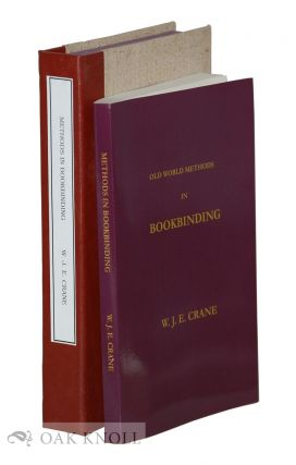BOOKBINDING FOR AMATEURS: BEING DESCRIPTIONS OF THE VARIOUS TOOLS AND APPLIANCES REQUIRED AND...