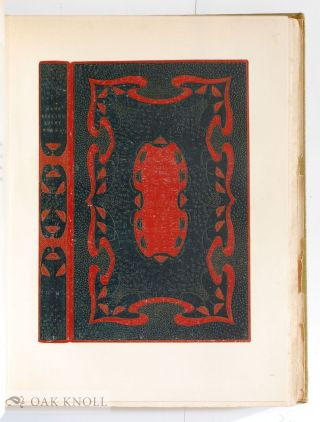 THE BINDINGS OF TO-MORROW, A RECORD OF THE WORK OF THE GUILD OF WOMEN-BINDERS AND OF THE HAMPSTEAD BINDERY.