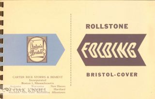 ROLLSTONE FOLDING BRISTOL-COVER