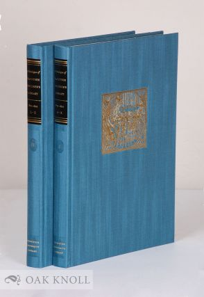 CATALOGUE OF THE COTSEN CHILDREN'S LIBRARY: THE PRE-1801 IMPRINTS, (VOLS. I & II