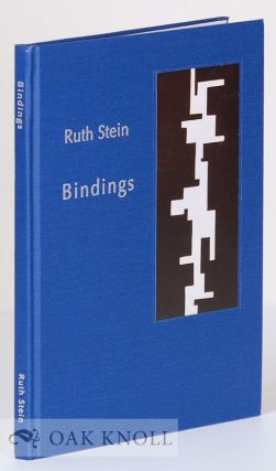 BINDINGS. Ruth Stein