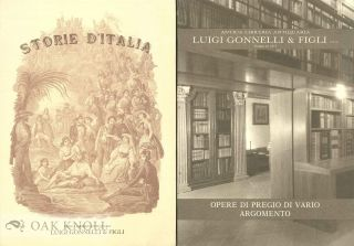 Two catalogues issued by Antica Libreria Antiquaria Luigi Gonnelli & Figli