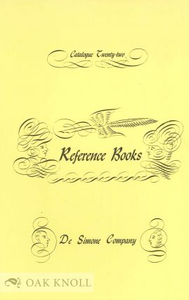Group of catalogues issued by DeSimon Company Booksellers.
