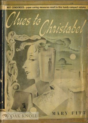 CLUES TO CHRISTABEL. Mary Fitt