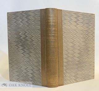 THE ENGLISH WRITING-MASTERS AND THEIR COPY-BOOKS, 1570-1800. A BIOGRAPHICAL DICTIONARY & A BIBLIOGRAPHY. WITH AN INTRODUCTION TO THE DEVELOPMENT OF HANDWRITING BY STANLEY MORISON.