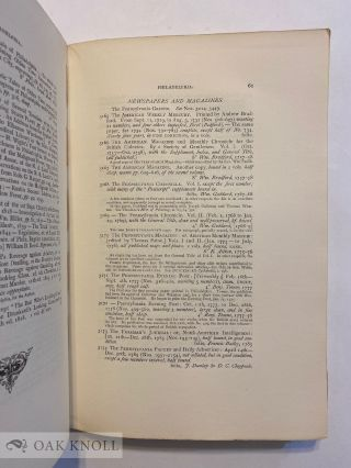 CATALOGUE OF THE AMERICAN LIBRARY OF THE LATE MR. GEORGE BRINLEY OF HARTFORD, CONN.