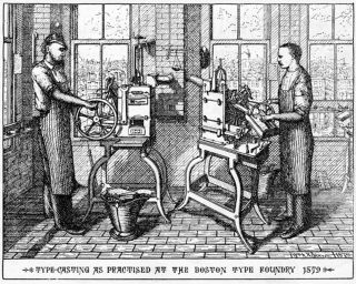 NINETEENTH-CENTURY AMERICAN DESIGNERS AND ENGRAVERS OF TYPE.